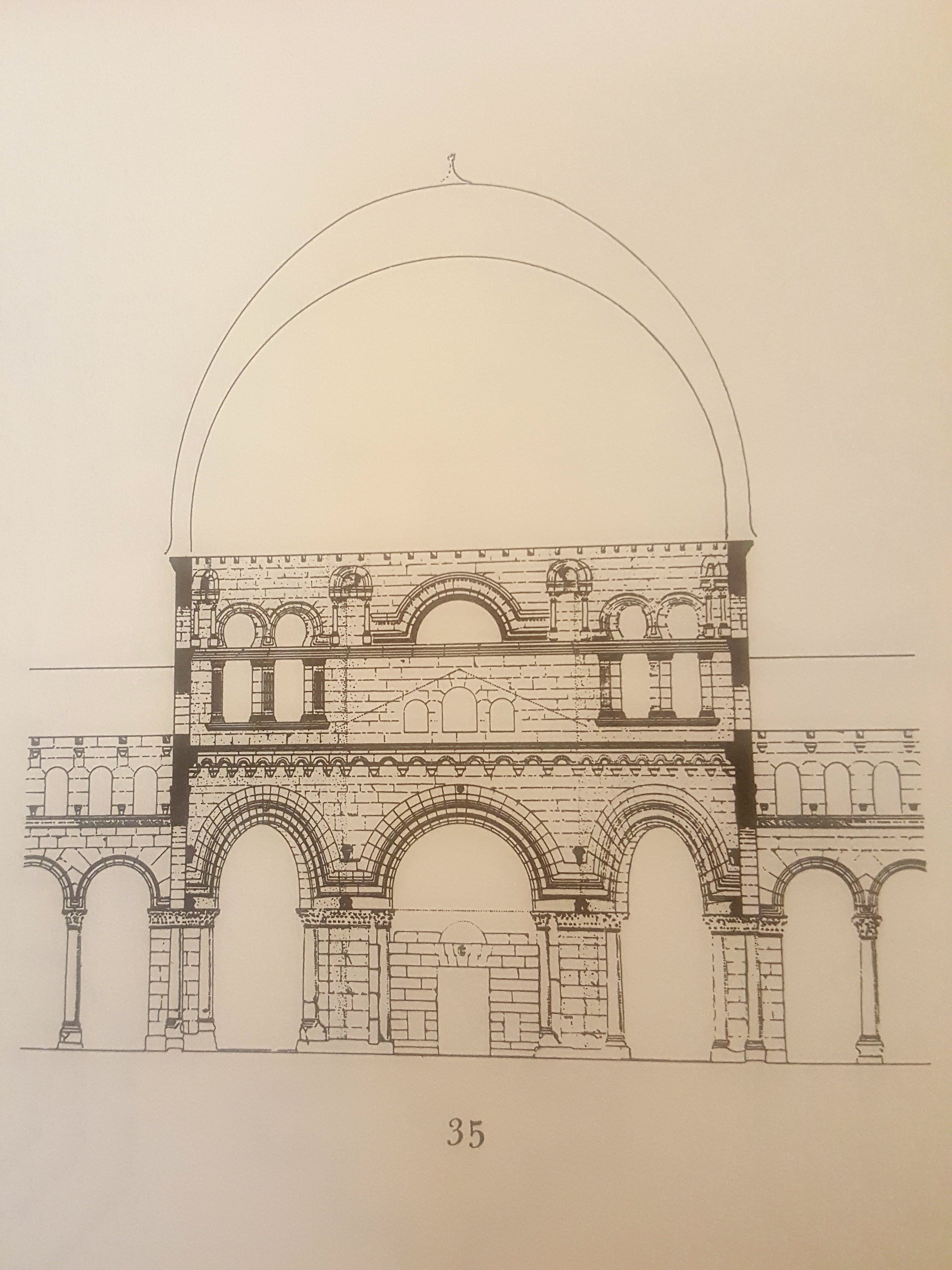 What is the foundation of your life and health? This architectural drawing shows many arches resting on a foundation.